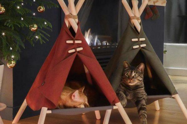 Journal Pets: Fora šatori kreirani posebno za uživanje vaših maca
