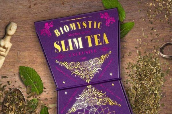 Biomystic Slim čaj idealan je za postizanje zdravog, toniziranog tijela