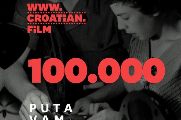 Kratkometražni naslovi na platformi croatian.film pogledani 100.000 puta!