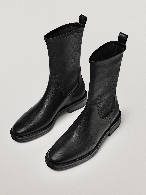 Massimo Dutti kožne čizme zima 2020.