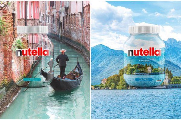 Nutella limited edition teglice s prirodnim ljepotama Italije