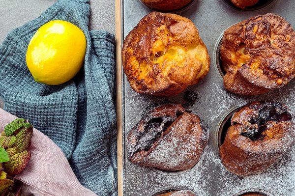 """Kate Homecooking: Popoversi ili šupljikavi muffini koji """"iskoče"""" iz kalupa"""