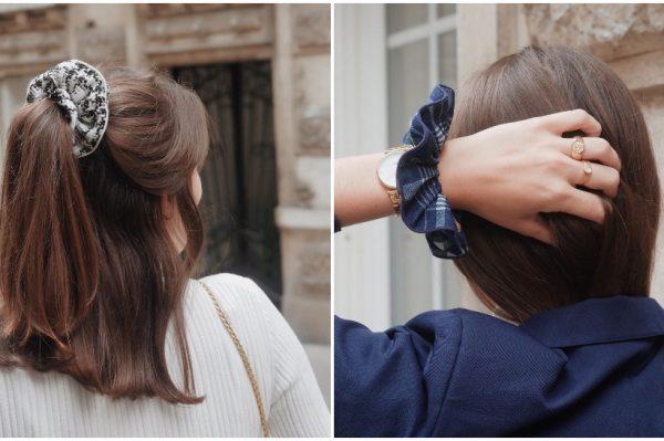 Scrunchie frizure s kojima ulazimo u novi radni tjedan