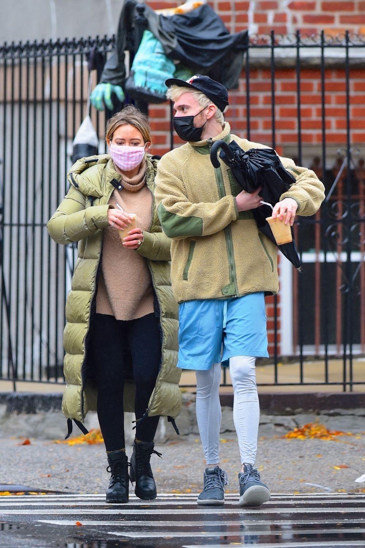 Trudnički street style Hilary Duff