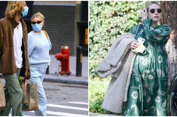 Street style inspiracija: poznate trudnice