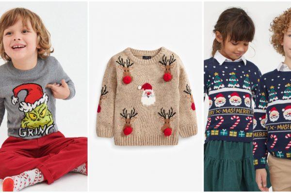 Božićni puloveri za klince su najbolja uvertira u nadolazeće blagdane