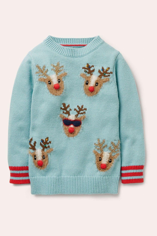 Dječji ružni božićni puloveri zima 2020