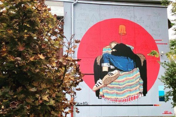 """Journal man: """"Djevojka koja sanja"""" novi je mural na zagrebačkoj Volovčici"""