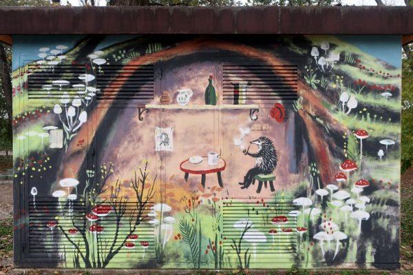 Popričali smo s Lorom, autoricom predivnog murala Ježeva kućica na Bundeku