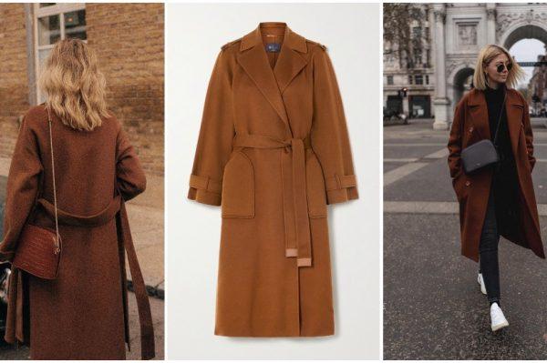 Smeđi kaput u 35 najboljih modela za zimske dane