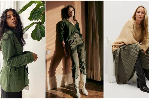 Divne nijanse zelene boje u više do 50 modela koje ćemo nositi ove zime