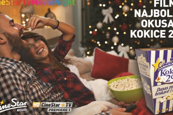 Film je najboljeg okusa uz kokice 2go i CineStar TV kanale
