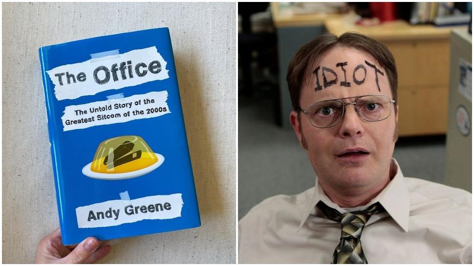 Knjiga The Office - serija - knjiga cover