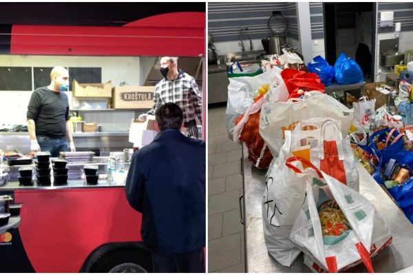Hrvatski chefovi i danas kuhaju u Petrinji – treba im još hrane i kuhara