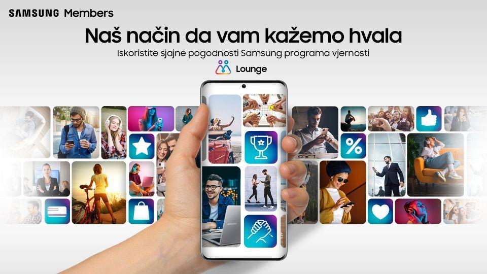 Samsung Lounge program vjernosti