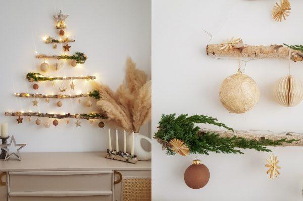 Ovo DIY božićno drvce idealno je za male stanove