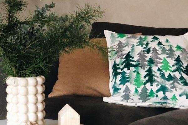 Ideje hrvatskih Insta kreativaca: Božićne DIY jastučnice