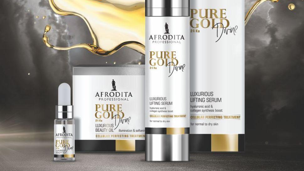 kozmetika Afrodita - Pure Gold Divine cover