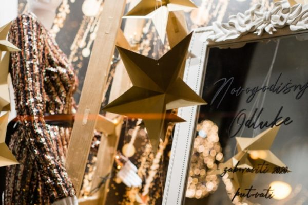 Novu godinu poželjet ćete proslaviti u Optika Anda blagdanskom izlogu!
