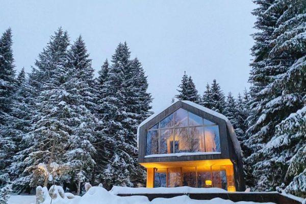 Zimska idila u poznatoj kući za odmor Casa Nube
