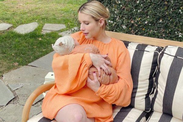 Emma Roberts objavila prvu fotografiju s malenim Rhodesom