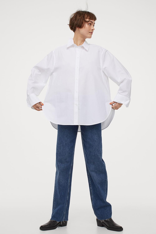 H&M oversized košulja 2021.