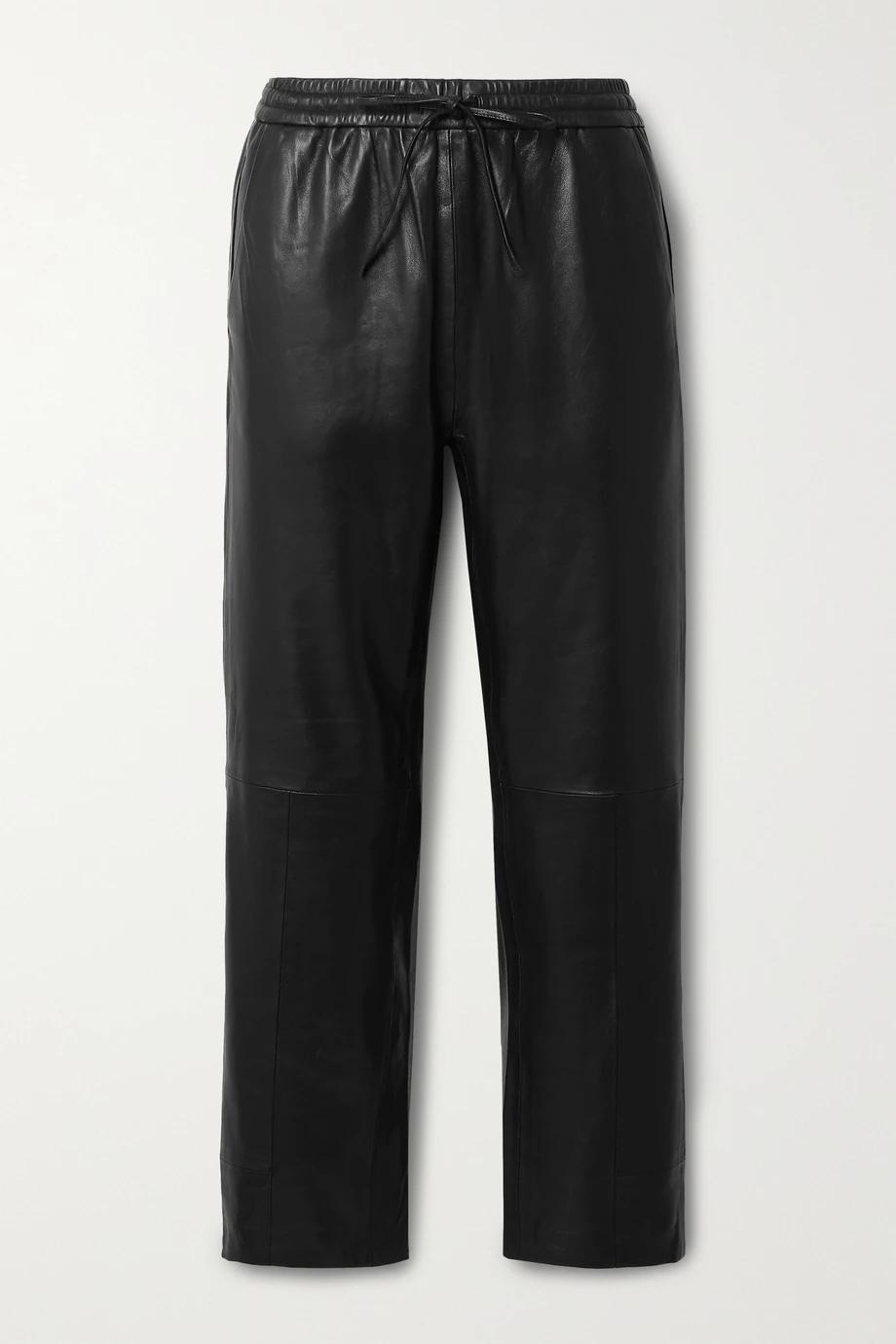 J Brand kožne hlače jogger model 2021.