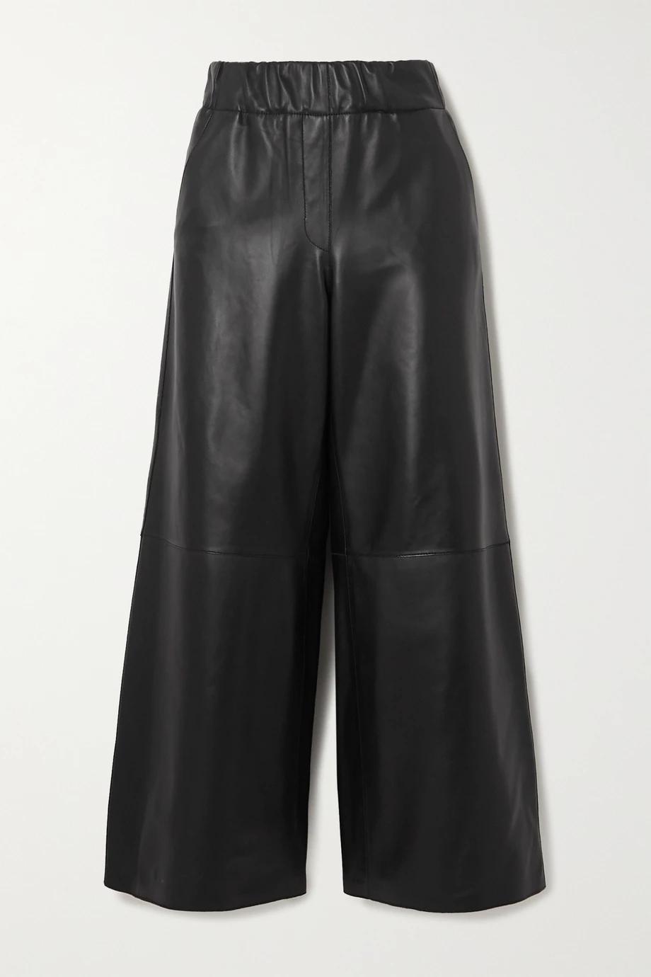 Loewe kožne hlače jogger model 2021.