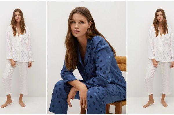 Prva Mango kolekcija u 2021. donijela je divne pidžame i bralette topove od satena