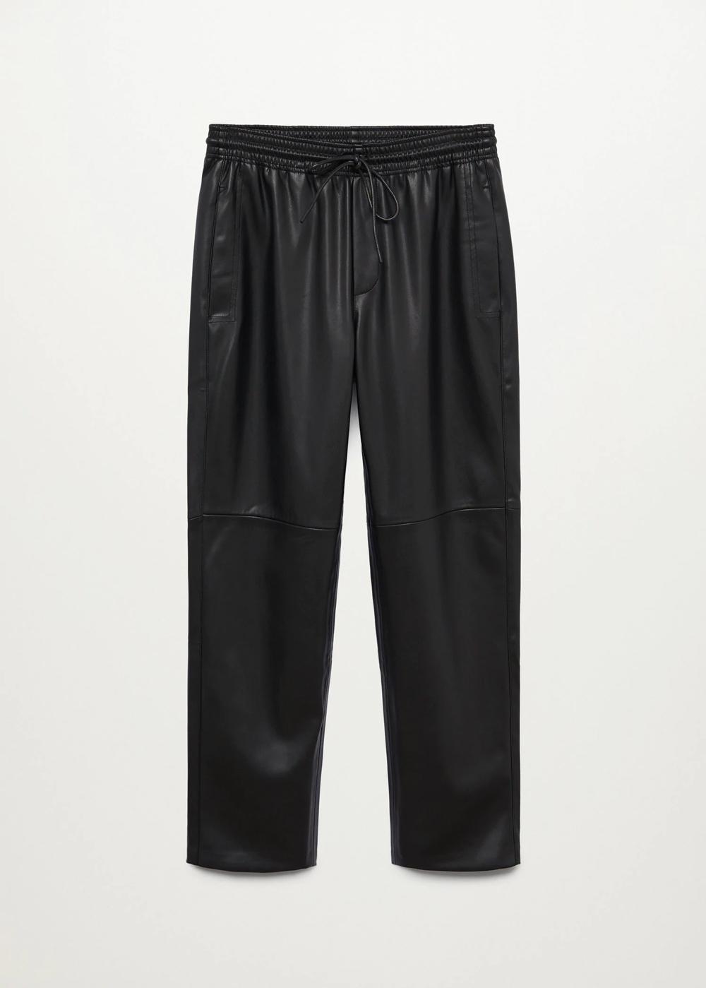 Mango kožne hlače jogger model 2021.