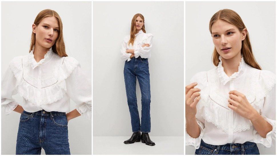 Već znamo koja je najpoželjnija rupičasta bluza za proljeće