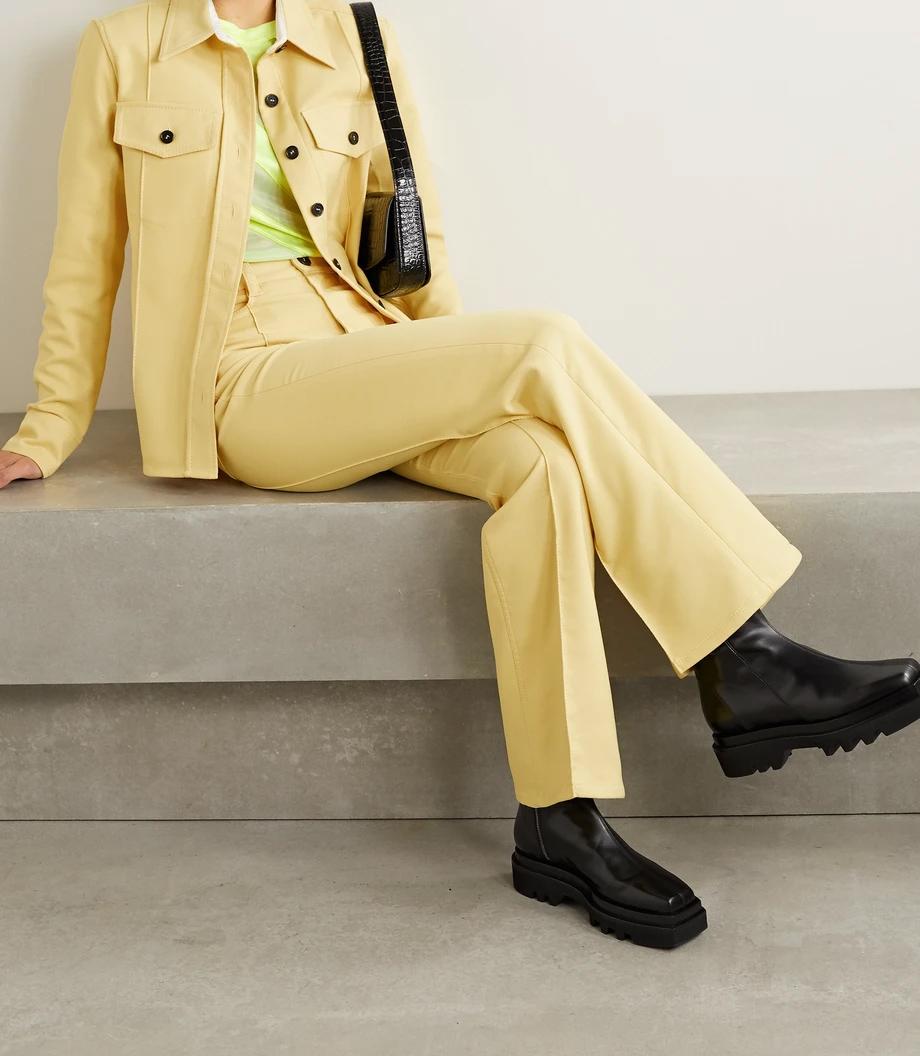 Meryll Rogge nježna žuta boja modni trend 2021.