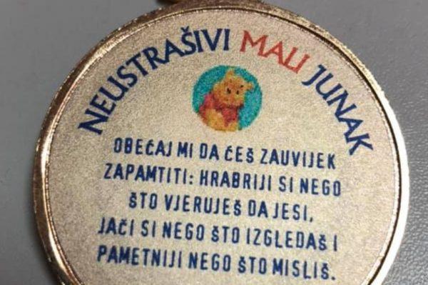 Volonteri će mališanima iz potresom pogođenih područja darivati medalje