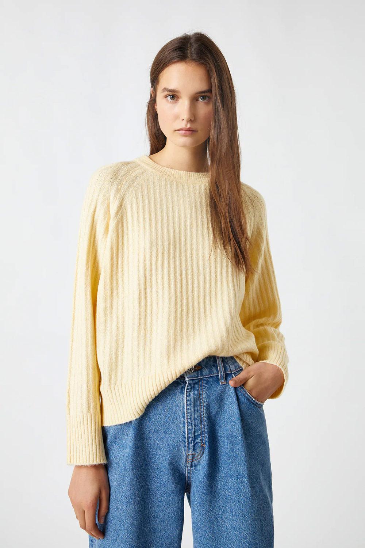 Pull & Bear nježna žuta boja modni trend 2021.