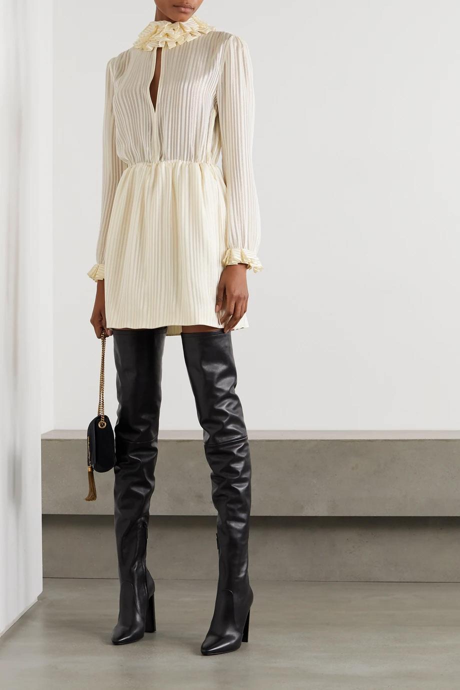 Saint Laurent nježna žuta boja modni trend 2021.