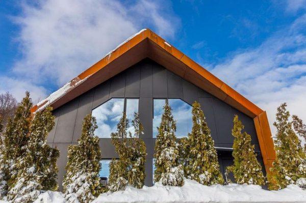 Moderna planinska kuća s pogledom na skijalište u kojoj bismo proveli cijelu zimu