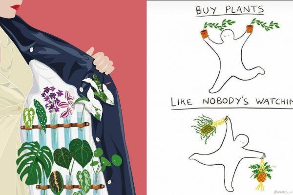 Super ilustracije koje će razumjeti svi obožavatelji biljaka