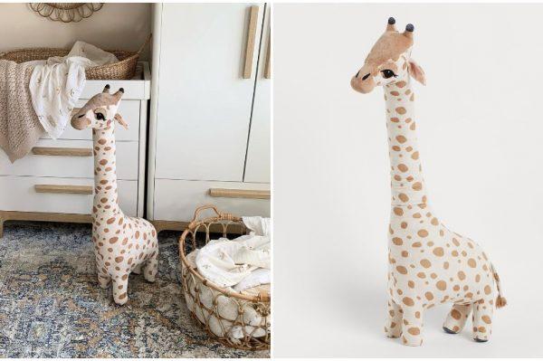 Velika plišana žirafa se vratila u H&M Home