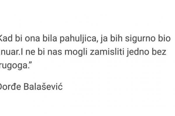 Odlazak legende: Preminuo je Đorđe Balašević