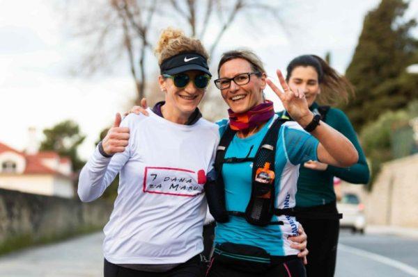 Ovi hrabri trkači počeli su 295 kilometara dugu utrku za Odjel dječje onkologije KBC-a Split