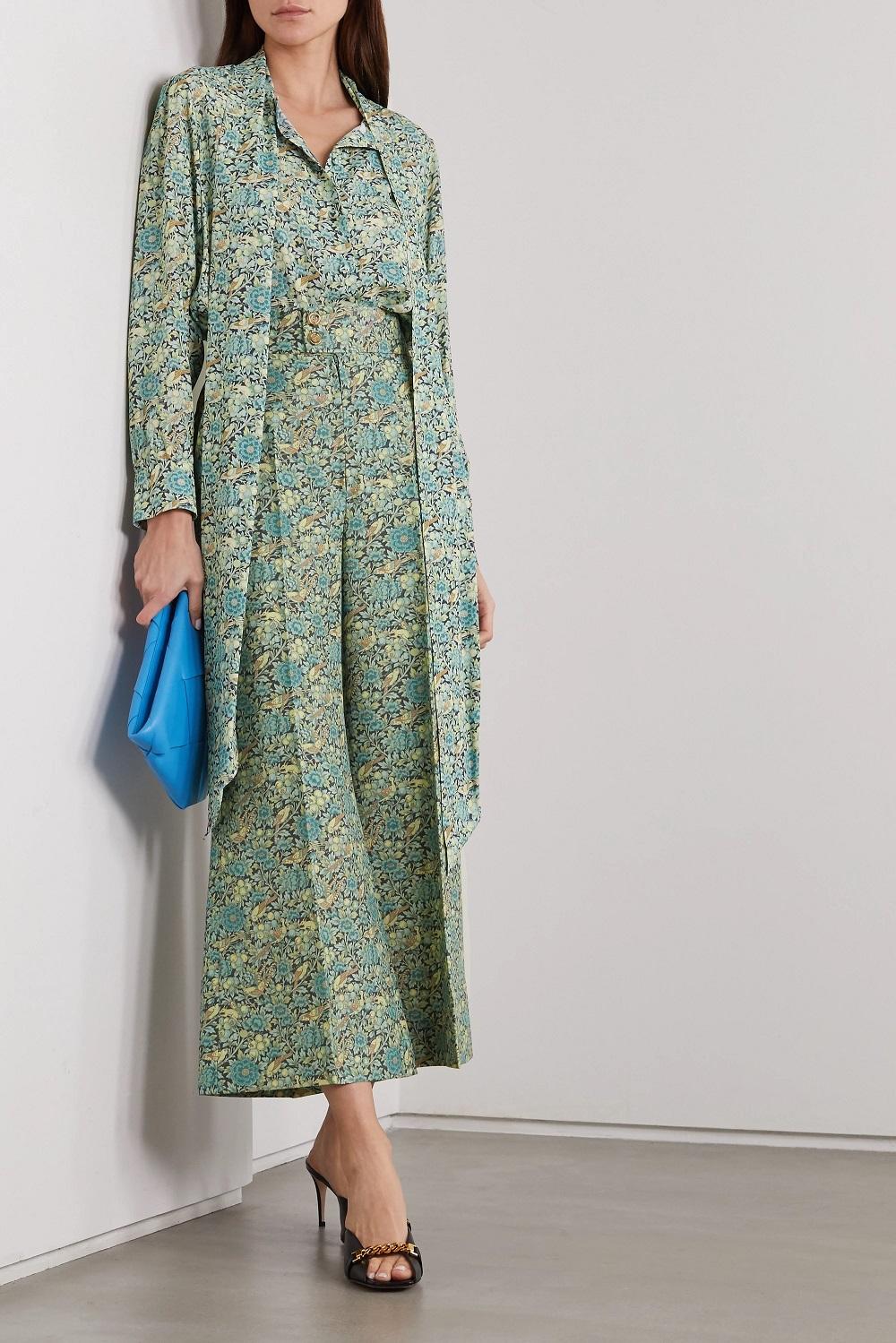 Gucci zelena boja modni trend proljeće 2021.