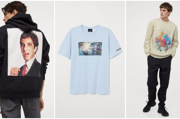 Journal Man: H&M ima jako cool T-shirt i sweatshirt majice