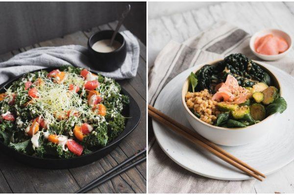 Kriška i po: Dvije zimske salate s ukusnim sezonskim namirnicama