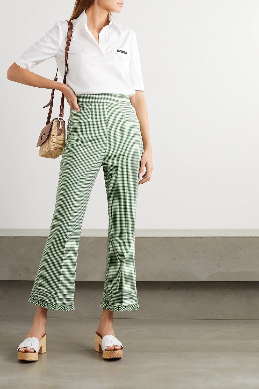 Miu Miu zelena boja modni trend proljeće 2021.