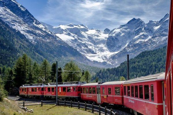 Najljepše europske rute za putovanja vlakom