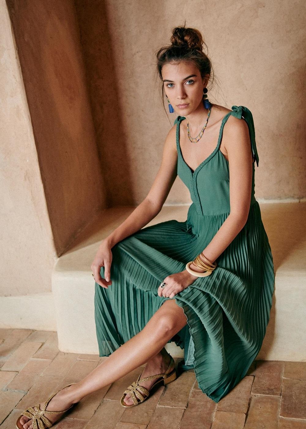 Sézane zelena boja modni trend proljeće 2021.