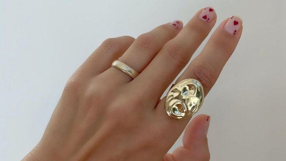 The Artist Palette Ring