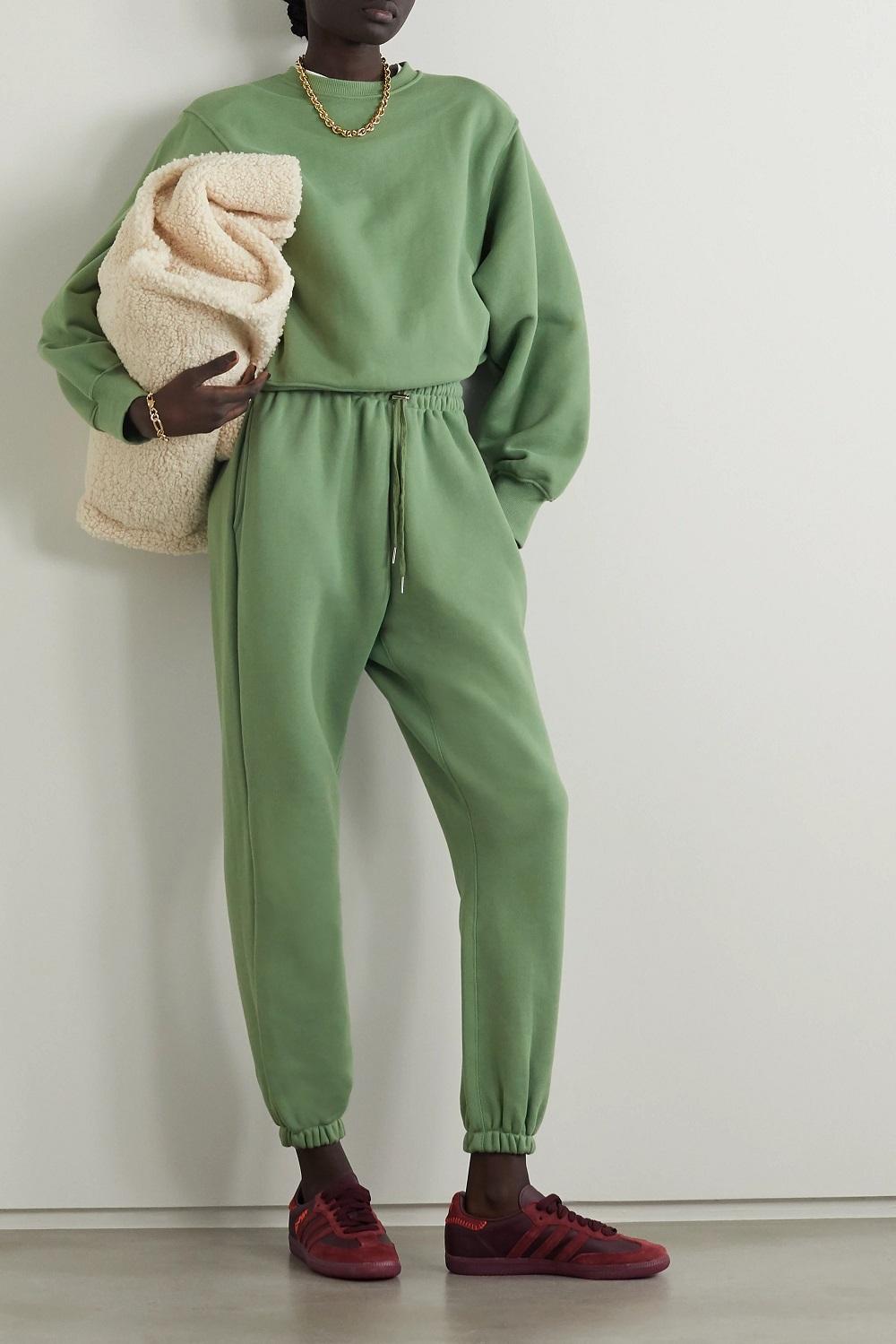 The Frankie Shop zelena boja modni trend proljeće 2021.