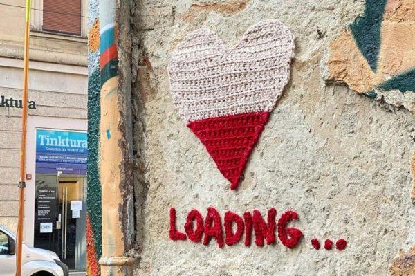 Novo vuneno srce osvanulo je na zidu u centru Zagreba