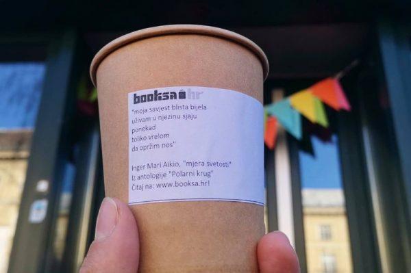 Poezija i coffee to go – navratite ovih dana u Booksu u Martićevu